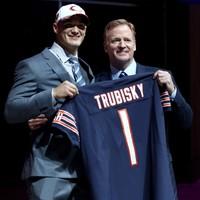 Garrett 1st pick of NFL Draft, but Trubisky leads night of QB drama