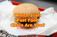 Which Irish Fast Food Chain Are You?