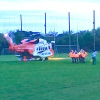 Man airlifted to hospital after sustaining serious burns at creamery