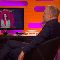 This Irish girl had a great red chair story about being a primary teacher on Graham Norton