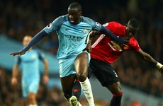 Toure taunts United: 'Next year I hope they attack a little bit more'