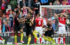 Jesus strikes late to salvage point for Man City in top-four hunt