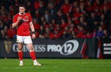 Fractured leg rules Munster's leading try-scorer out for Pro12 climax