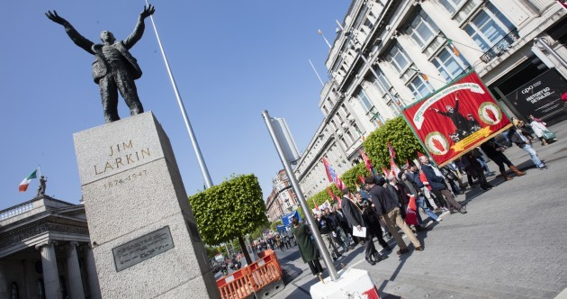 Pictures: Thousands turn out in Dublin for May Day protest calling for action on housing crisis