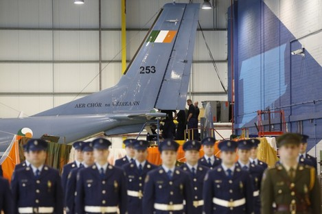 Stock Photo of Irish Air Corps.