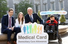 Three year campaign results in 33,000 children with disabilities getting full medical cards