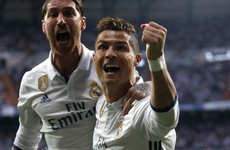 Inspired Ronaldo puts Real Madrid on brink of Champions League final