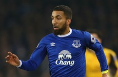 Everton's Aaron Lennon receiving treatment for stress-related illness
