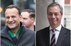 Varadkar says Farage 'takes the biscuit' with 'hilarious' comment that the EU is 'stoking Irish nationalism'