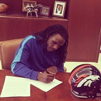 We're not in Kansas any more: Jamaal Charles has joined the Denver Broncos