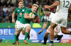 Olding a doubt for Ireland's summer tour after 'significant' ankle injury