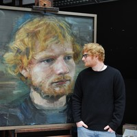 This Irish artist's portrait of Ed Sheeran is now on display in the National Portrait Gallery