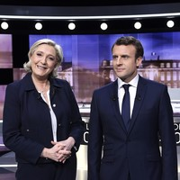 Macron tells Marine Le Pen her election would lead to a French 'civil war'