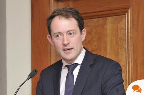 Sean Sherlock, minister of state at the Department of Entreprise, JObs and Innovation with responsibility for Research and Innovation