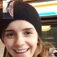 The lovely story of Emma Watson surprising a girl on Facetime just because her mam asked