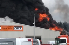 Smoke seen across Limerick as fire breaks out in scrap metal yard