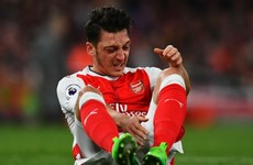 Arsene Wenger apologises for Mesut Ozil's White Hart Lane outburst