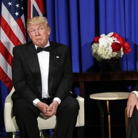 Trump says strained relationship with Australia fixed following gala dinner with Prime Minister