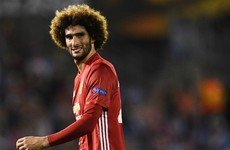 'We were in control': Fellaini says Man Utd deserved Rashford's winner
