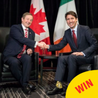 People are loving the Star Wars socks Justin Trudeau wore to meet Enda Kenny yesterday