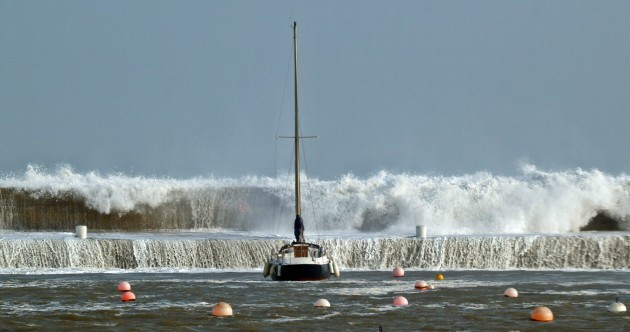 Summer warning: Don't be messing about with smartphones around crashing waves