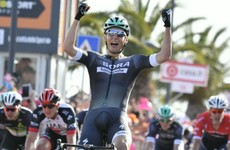 Sam Bennett's team started with a bang on day one of the Giro