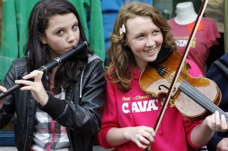 Music at the Fleadh which was held in Co Cavan last year