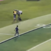 This incredible javelin throw almost struck a cameraman at the Diamond League
