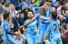 Five-star Man City hitting top form as they blow Crystal Palace away