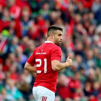 He's back! A welcome sight as Conor Murray makes injury return for Munster