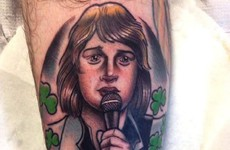 Someone actually got a Johnny Logan tattoo and it is magnificent