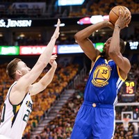 Watch: Kevin Durant scores 38 points to propel Golden State Warriors past Utah Jazz