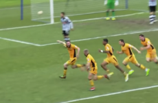 Watch: Irish defender the hero as 89th minute goal keeps Newport in the Football League
