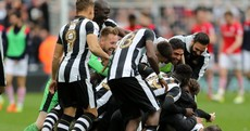 Championship drama! Grealish's 89th-minute equaliser hands Newcastle title at Brighton's expense