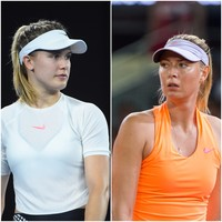 Bouchard wants 'cheat' Sharapova to be banned for life - tonight they face each other