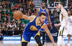 Curry for 30: Warriors sweep into western finals with 5 players in double figures
