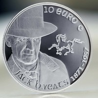 Central Bank issues Jack B. Yeats collector coin