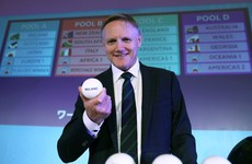 'June will be very tough for us, today's draw will spark a real interest (in Japan)' -- Joe Schmidt