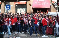 20 supporters and 5 police hurt in scuffles before Madrid derby