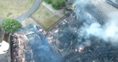 Dozens left homeless after fire destroyed up to 60 apartments in Blanchardstown