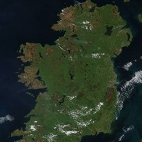Nasa has taken an aerial photo of Ireland's gorse fires as public warned of health risks
