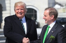 Donald Trump says Ireland has done 'an amazing job' and deserves a 'lot of credit'
