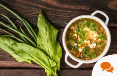 Grow it yourself: Pearl barley and spring greens soup