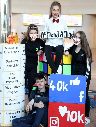 'We didn't sugarcoat it, it's the harsh reality': Monaghan teens win top award for mental health project