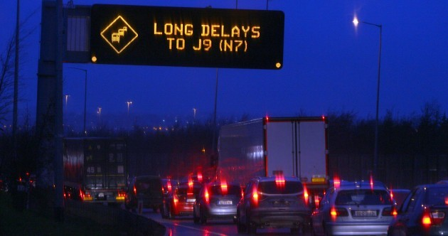 The worst time and place for accidents on the M50? The Red Cow junction on a Wednesday evening