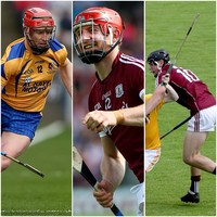 A veteran brother and a young nephew for company with Joe Canning in Portumna senior side