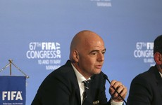 Infantino channels Trump as he bemoans 'fake news' about Fifa