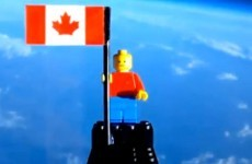 Video: One small step for Lego...