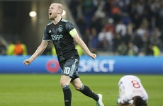 Ajax book date with United after seeing off Lyon in thriller