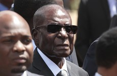 Robert Mugabe isn't falling asleep at events - he's 'just resting his eyes'